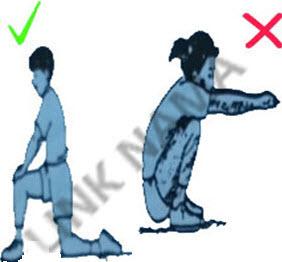 نحوه درست حرکات ورزشی