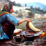 زن عشایر کوچ نشین