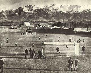 اولین مسابقه فوتبال