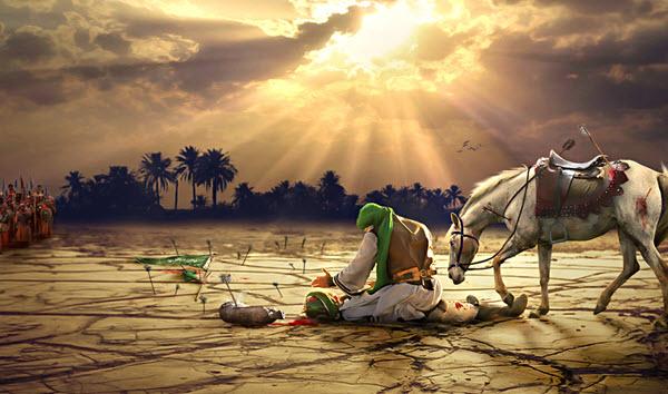 امام حسین و حضرت عباس