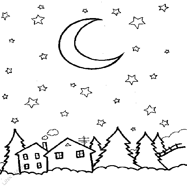 night and day coloring pages - photo#14
