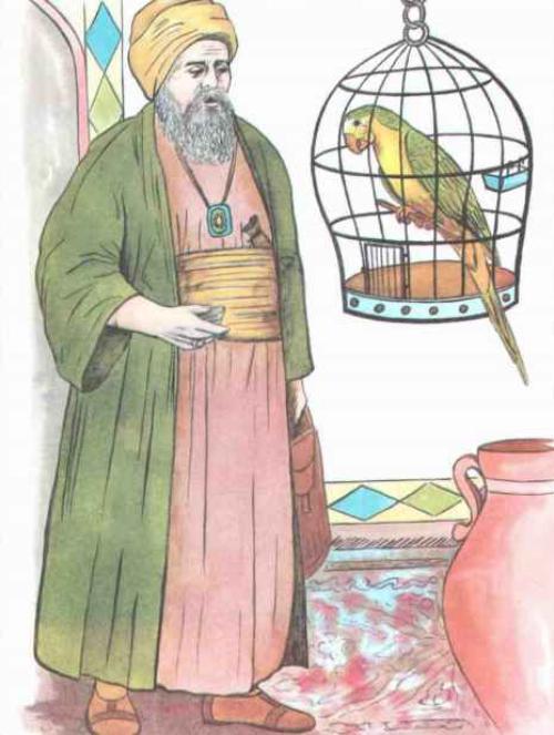 شعر و داستان طوطی و بازرگان