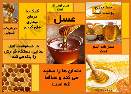 اطلاعاتی درباره عسل