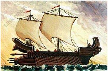 نیرو دریایی هخامنشیان