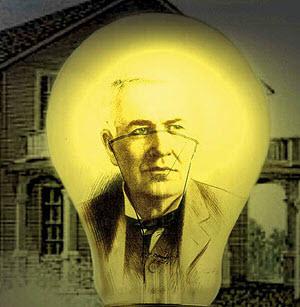 توماس ادیسون مخترع لامپ